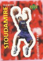 Sticker - UPPER DECK, 1997. - Basket / Basketball, No 314 - Damon Stoudamire, Toronto Raptors - Basketball - NBA