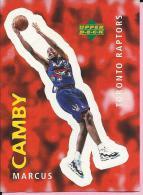 Sticker - UPPER DECK, 1997. - Basket / Basketball, No 315 - Marcus Camby, Toronto Raptors - Basketball - NBA