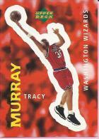 Sticker - UPPER DECK, 1997. - Basket / Basketball, No 328 - Tracy Murray, Washington Wizards - Basketball - NBA