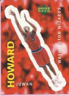 Sticker - UPPER DECK, 1997. - Basket / Basketball, No 329 - Juwan Howard, Washington Wizards - Basketball - NBA