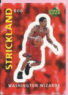 Sticker - UPPER DECK, 1997. - Basket / Basketball, No 330 - Rod Strickland, Washington Wizards - Basketball - NBA