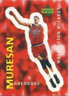 Sticker - UPPER DECK, 1997. - Basket / Basketball, No 331 - Gheorghe Muresan, Washington Wizards - Basketball - NBA