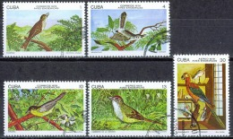 K150 FAUNA VOGELS BIRDS OISEAUX VÖGEL AVES PAPEGAAI PARROT PERROQUET CUBA 1978 Gebr / Used - Perroquets & Tropicaux