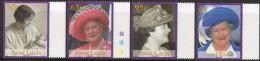 St Lucia 2002 - HM Queen Elizabeth The Queen Mother Commemoration SG1265-1268 MNH Cat £4.20 SG2015 - St.Lucie (1979-...)