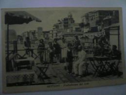 Nettuno Piattaforma Del Lido Usata 1937 - Altre Città