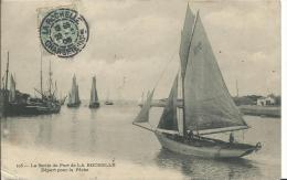 17 - CHARENTE MARITIME - LA ROCHELLE - Depart Pour La Peche - La Rochelle