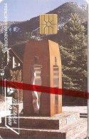 AND-025 TARJETA DE ANDORRA CONSTITUCION  NUEVA-MINT CON BLISTER - Andorra