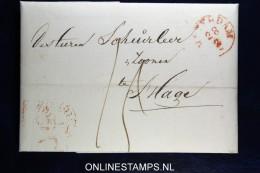 Complete Brief  Van Amsterdam Naar  Den Haag , 1843 - Nederland