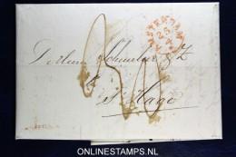 Complete Brief  Van Amsterdam Naar Den Haag, 1826 - ...-1852 Voorlopers