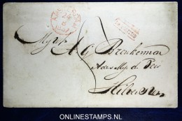 Omslag  Van Amsterdam Naar Hilversum, 1837 Na Poststijd - Niederlande