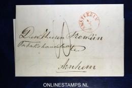 Complete Brief  Van Amsterdam Naar Arnhem 1852 - Pays-Bas