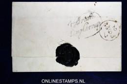 Omslag / Cover  Engeland Naar Amsterdam, Brielle Eng. Corresp. Korteweg Nr 141 - ...-1852 Voorlopers