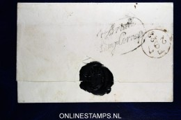 Omslag / Cover  Engeland Naar Amsterdam, Brielle Eng. Corresp. Korteweg Nr 141 - Niederlande