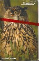 AND-082 TARJETA DE ANDORRA BUHO REAL (BIRD-OWL) NUEVA-MINT CON BLISTER - Andorra