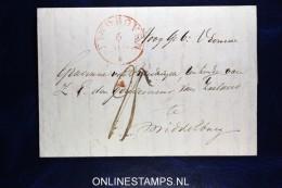 Complete Brief Van Eindhoven Naar Middelburg, 1841 - Pays-Bas