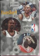 Sticker - UPPER DECK, 1997. - Basket / Basketball, NBA, No 6 /141 /305 - Basketball - NBA