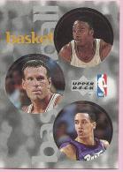 Sticker - UPPER DECK, 1997. - Basket / Basketball, NBA, No 21 / 251 / 317 - Basketball - NBA