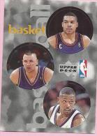 Sticker - UPPER DECK, 1997. - Basket / Basketball, NBA, No 23 / 140 / 258 - Basketball - NBA