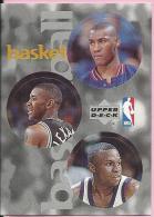 Sticker - UPPER DECK, 1997. - Basket / Basketball, NBA, No 24 / 119 / 261 - Basketball - NBA
