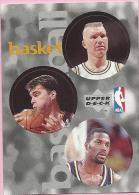 Sticker - UPPER DECK, 1997. - Basket / Basketball, NBA, No 27 / 94 / 237 - Basketball - NBA