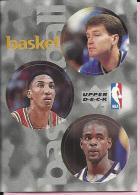 Sticker - UPPER DECK, 1997. - Basket / Basketball, NBA, No 29 / 208 / 327 - Basketball - NBA