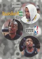 Sticker - UPPER DECK, 1997. - Basket / Basketball, NBA, No 30 / 96 / 216 - Basketball - NBA