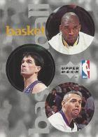 Sticker - UPPER DECK, 1997. - Basket / Basketball, NBA, No 31 / 139 / 323 - Basketball - NBA
