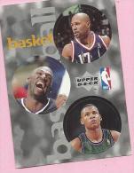 Sticker - UPPER DECK, 1997. - Basket / Basketball, NBA, No 44 / 110 / 257 - Basketball - NBA