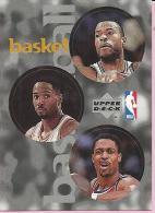 Sticker - UPPER DECK, 1997. - Basket / Basketball, NBA, No 52 / 253 / 325 - Basketball - NBA