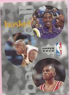 Sticker - UPPER DECK, 1997. - Basket / Basketball, NBA, No 64 / 252 / 301 - Basketball - NBA