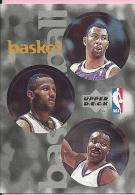 Sticker - UPPER DECK, 1997. - Basket / Basketball, NBA, No 66 / 154 / 259 - Basketball - NBA