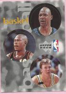 Sticker - UPPER DECK, 1997. - Basket / Basketball, NBA, No 71 / 169 / 239 - Basketball - NBA