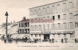 17 - ROCHEFORT Sur MER  - Hotel De France Et De La Poste  - ESTAMINET  - Dos Vierge TBE   - 2 Scans - Rochefort