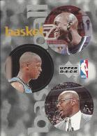 Sticker - UPPER DECK, 1997. - Basket / Basketball, NBA, No 72 / 155 / 294 - Basketball - NBA