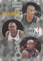 Sticker - UPPER DECK, 1997. - Basket / Basketball, NBA, No 73 / 231 / 316 - Basketball - NBA