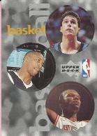 Sticker - UPPER DECK, 1997. - Basket / Basketball, NBA, No 74 / 117 / 254 - Basketball - NBA