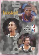Sticker - UPPER DECK, 1997. - Basket / Basketball, NBA, No 86 / 192 / 296 - Basketball - NBA