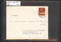 SUISSE - No 126 I  SUR LETTRE - COTE: 200 CHF - Briefe U. Dokumente