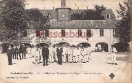 17 - ROCHEFORT Sur MER  - Depot Des Equipages De La Flotte - Ecole Des Fourriers      - 2 Scans - Rochefort