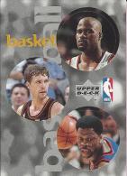 Sticker - UPPER DECK, 1997. - Basket / Basketball, NBA, No 93 / 172 / 280 - Basketball - NBA