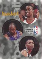 Sticker - UPPER DECK, 1997. - Basket / Basketball, NBA, No 95 / 138 / 298 - Basketball - NBA