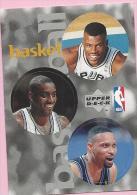 Sticker - UPPER DECK, 1997. - Basket / Basketball, NBA, No 118 / 195 / 214 - Basketball - NBA