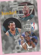 Sticker - UPPER DECK, 1997. - Basket / Basketball, NBA, No 131 / 191 / 215 - Basketball - NBA
