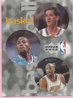 Sticker - UPPER DECK, 1997. - Basket / Basketball, NBA, No 137 / 194 / 250 - Basketball - NBA
