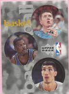 Sticker - UPPER DECK, 1997. - Basket / Basketball, NBA, No 156 / 232 / 326 - Basketball - NBA