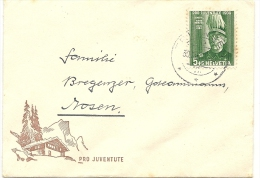 1939 PJ Damenbriefli Sehr Schön - Lettres & Documents