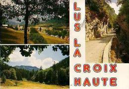 Lus La Plus Haute  H53       Vue Du Village Et Vallon Du Rioufroid - Francia