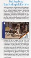 50 Jahre Deutschland TK O 406/95 ** 36€ Telefonkarten Karl-May-Spiele Segeberg Freiluft-Theater Art Tele-card Of Germany - O-Series : Customers Sets
