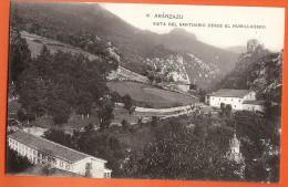 PO-18 Arànzazu Arantzazu  Vista Del Santuario Desde El Humilladero. Non Circulé. Hauser Y Memet Madrid 16 - Spanien