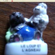 FEVE LE LOUP ET L AGNEAU A6 - Animals